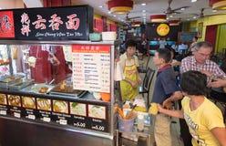 Comida de Chinatown en Kuala Lumpur Imagenes de archivo