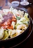 Comida de Corea Imagenes de archivo
