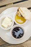 Comida de desayuno Fotografía de archivo libre de regalías