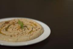 Comida de Hummus Imagen de archivo