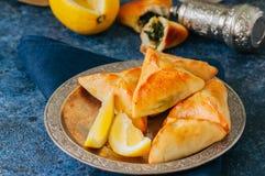 Comida de Iftar durante el concep del Ramadán, árabe y de Oriente Medio de la comida fotografía de archivo libre de regalías