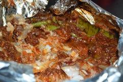 Comida de la barbacoa Fotos de archivo