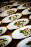 Comida de la boda Imagen de archivo