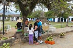 Comida de la calle, el Brasil Imagen de archivo libre de regalías