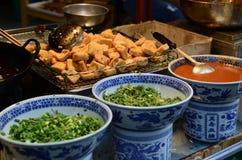 Comida de la calle en China Imagen de archivo libre de regalías