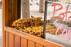 Comida de la calle en Praga Foto de archivo