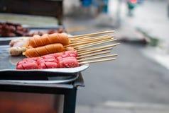 Comida de la calle en Tailandia Imagenes de archivo