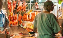 Comida de la carne asada en estilo del Cantonese Imagen de archivo
