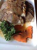 Comida de la carne de vaca Fotos de archivo libres de regalías