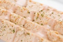 Comida de la croqueta de pescados Imágenes de archivo libres de regalías