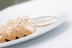 Comida de la croqueta de pescados Foto de archivo