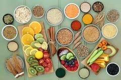 Comida de la dieta para el Detox del hígado fotos de archivo