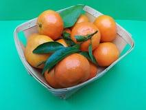 Comida de la fruta del mandarín Imagen de archivo libre de regalías