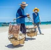 Comida de la playa Fotografía de archivo libre de regalías