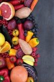 Comida de la salud y del bienestar imagen de archivo