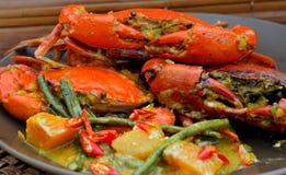 """Comida de las Filipinas,  del """"Alimango†(cangrejos del fango) Fotos de archivo"""