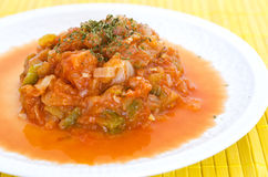Comida de las verduras Foto de archivo