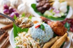 Comida de Malasia fotos de archivo