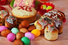 Comida de Pascua Imagen de archivo libre de regalías