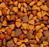 Comida de perro seca Foto de archivo libre de regalías