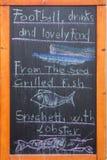 Comida de pescados Fotos de archivo libres de regalías