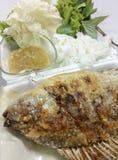 Comida de pescados de Tailandia Imagen de archivo libre de regalías