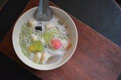 Comida de Ruammit Thaidessert fotos de archivo libres de regalías