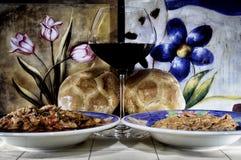 Comida de Toscana Imagen de archivo
