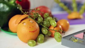 Comida decorativa de la fruta metrajes