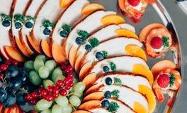 Comida del abastecimiento Imagen de archivo