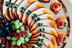 Comida del abastecimiento Imagen de archivo libre de regalías