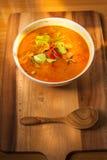 Comida del cerdo del curry del coco Fotos de archivo