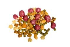 Comida del cereal Fotografía de archivo libre de regalías