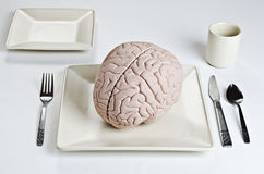 Comida del cerebro Imagenes de archivo