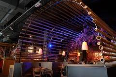 Comida del chino del restaurante de Amsterdam Imagen de archivo libre de regalías