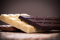 Comida del chocolate Fotografía de archivo libre de regalías