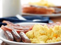 Comida del desayuno Fotos de archivo libres de regalías