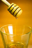Comida del dulce de la abeja de Honey Dripper Sweet Food Spreader Fotografía de archivo libre de regalías