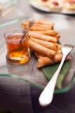 Comida del estilo de la comida fría Foto de archivo libre de regalías
