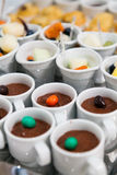 Comida del estilo de la comida fría Fotografía de archivo libre de regalías