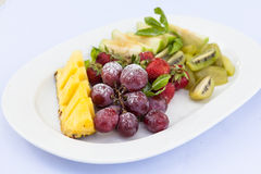 Comida del estilo de la comida fría Imagen de archivo