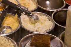 Comida del estilo de la comida fría en Maui Fotos de archivo libres de regalías