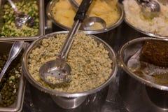 Comida del estilo de la comida fría en Maui Imágenes de archivo libres de regalías