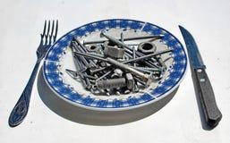 Comida del hierro Foto de archivo