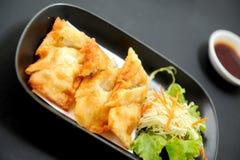 Comida del japonés de Gyoza Fotos de archivo libres de regalías
