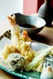 Comida del japonés del Tempura Foto de archivo libre de regalías
