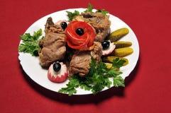Comida del restaurante Fotografía de archivo libre de regalías