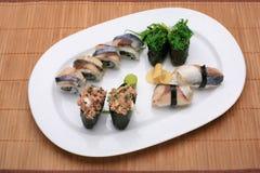 Comida del sushi Foto de archivo libre de regalías