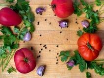 Comida del tomate Imagen de archivo