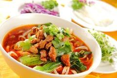 Comida deliciosa china Imagenes de archivo